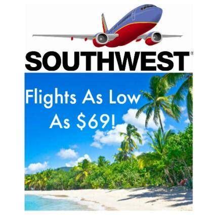 cheap southwest airlines flights sale