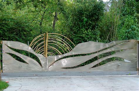 Gartentor Aus Edelstahl by Gartentor Aus Edelstahl Gahr