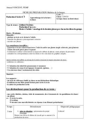Fiche Preparation Vo.pdf notice & manuel d'utilisation