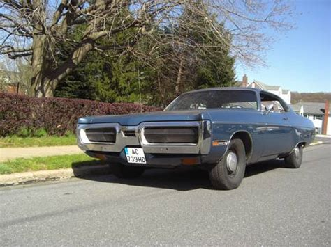 Classic Car Seat Upholstery Plymouth Fury 3 Coupe Cop Car For Sale 1972 On Car