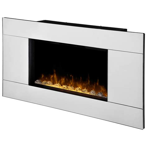 wall mounted fireplace reflections wall mount electric fireplace dwf24a 1329