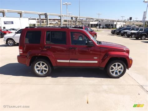 2012 Jeep Liberty Latitude Cherry Pearl 2012 Jeep Liberty Latitude