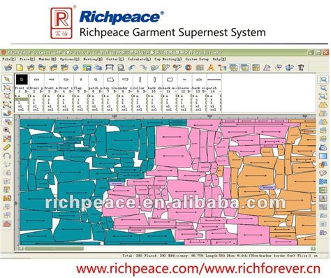 fabric pattern maker software richpeace garment cad system buy garment garment hanging