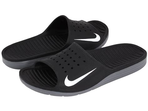 nike sandals nike solarsoft slide mens sport sandals slippers athletic