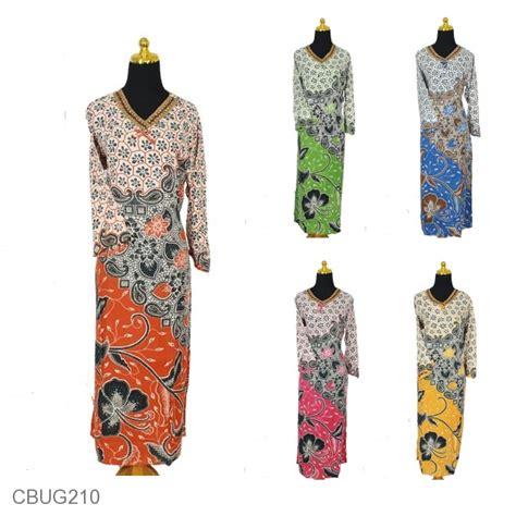 Dress Gamis Renda Murah baju batik longdress renda santhung motif kembang godhong