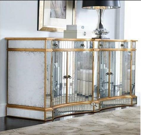 mirrored living room cabinet mirrored furniture in the interior how to make the best