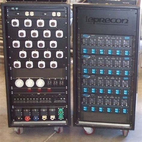 Dimmer Rack by Used Vx 48 Dimmer Rack By Leprecon Item 1508