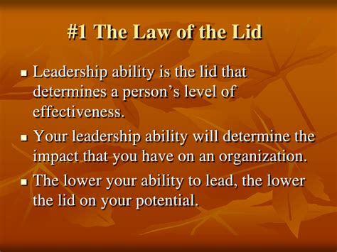 21 irrefutable laws of leadership 10th anniversary edition