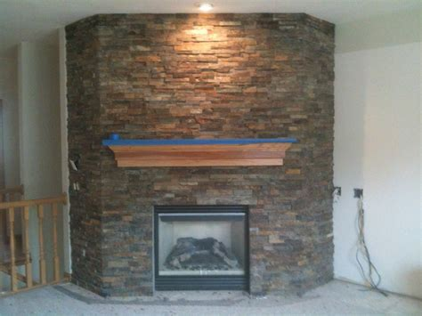 fireplace with stacked ledger stone stone concepts llc