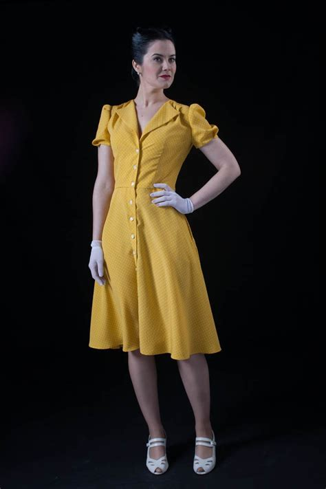 s 1940 s day dress history