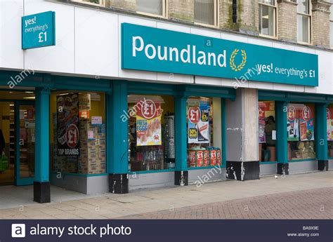 general view of poundland pound shop in ipswich high
