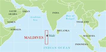 Maldives On World Map by Maldives Map World