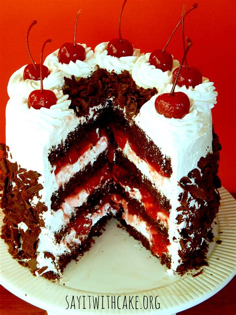 black forest cake black forest cake say it with cake