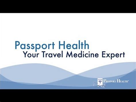 Passport Health Pre Travel Preparation Vaccinations Passport Health