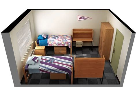 Adams Home Floor Plans freshman challenge a virtually decorated dorm room wsj