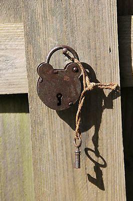 cadenas abus clé cassée antiques collectibles cadenas antique padlocks