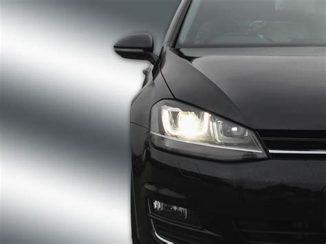 Led Xenon complete bi xenon headls with led drl for vw golf 7