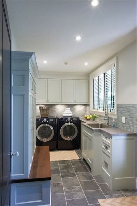 Long Narrow Laundry Space For The Home Pinterest Narrow Laundry