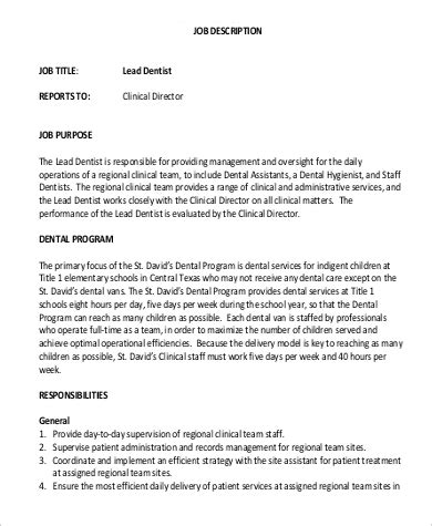 Sample Of Dental Assistant Resume Examples