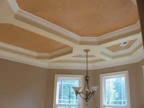 Dining Room Ceiling Ideas double tray ceiling paint ideas home design ideas