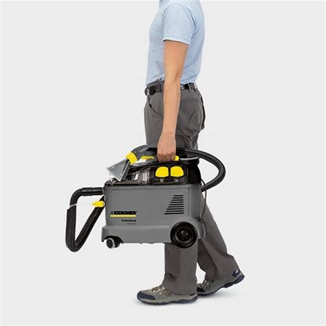 Small Upholstery Cleaner by Karcher Puzzi 8 1 Compact Upholstery Cleaner Powervac