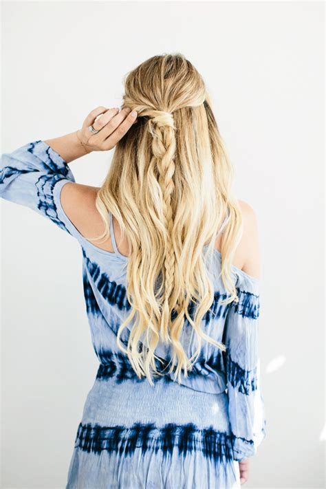 darling ponytail hair dove loveyourhair twisted braid hair tutorial by dash of