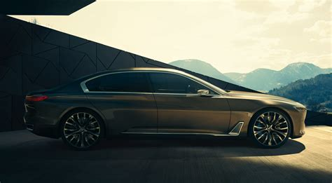 luxury bmw bmw vision future luxury concept in hybrid gets revealed
