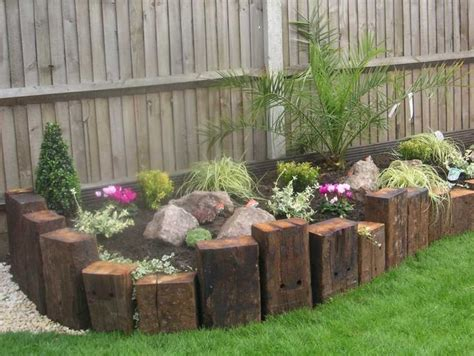 Landscaping Sleepers 25 Best Ideas About Front Garden Landscape On