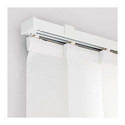 ikea vidga vidga panel curtain holder white