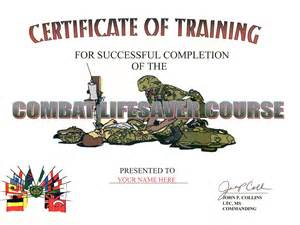 combat lifesaver certificate template combat engineer combat infantry badge search results
