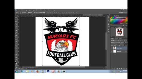 cara membuat logo windows di photoshop cara membuat logo club bola dengan photoshop youtube