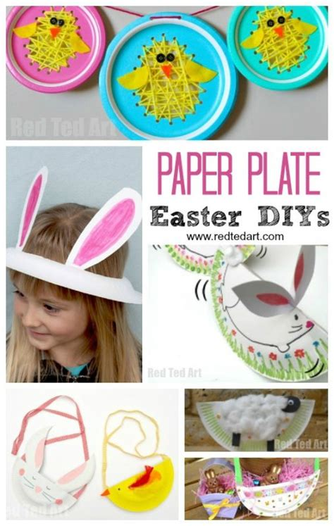 Easter Crafts With Paper Plates - paper plate easter crafts for preschool ted s
