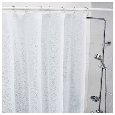 ikea curtains white innaren shower curtain white 180x180 cm ikea