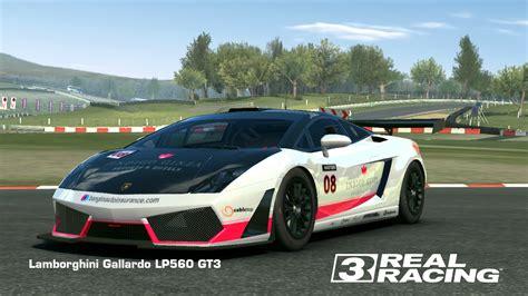 Real Racing 3 Lamborghini Gallardo Image Gallery Lp560 Gt3