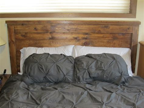 Home Made Headboards | ana white reclaimed wood headboard queen size diy