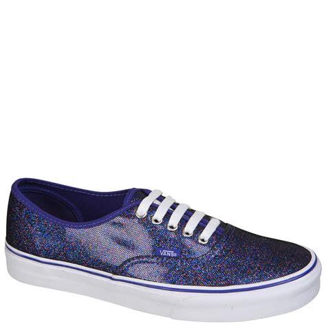 Jual Vans True White vans authentic iridescent glitter trainers blue true white free uk delivery allsole