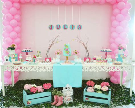 themes girl baby shower enchanted garden baby shower baby shower ideas themes