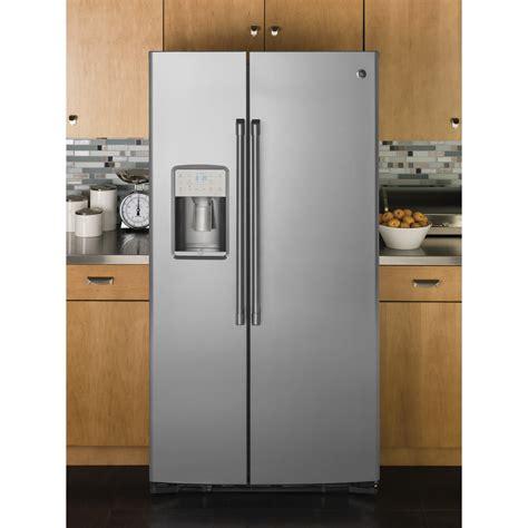 ge cabinet depth refrigerator czs22mskss ge cafe counter depth by refrigerator
