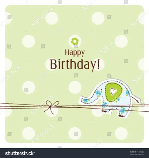birthday card templates simple birthday card greeting card template simple