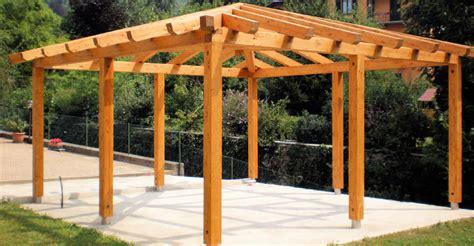 prezzi gazebi in legno gazebo in legno tetti e strutture in legno alfio
