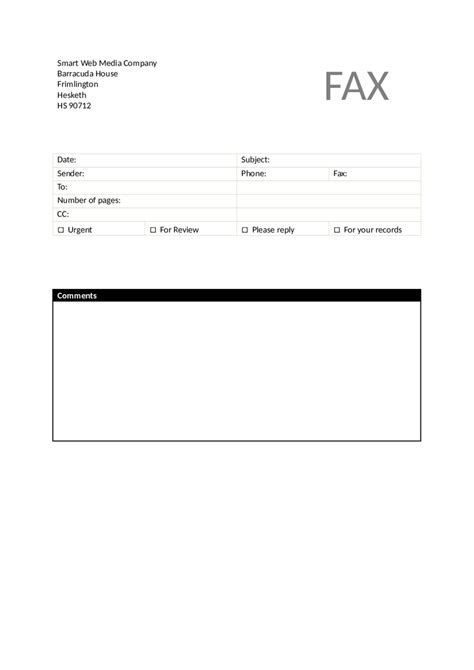 2018 fax cover sheet template fillable printable pdf