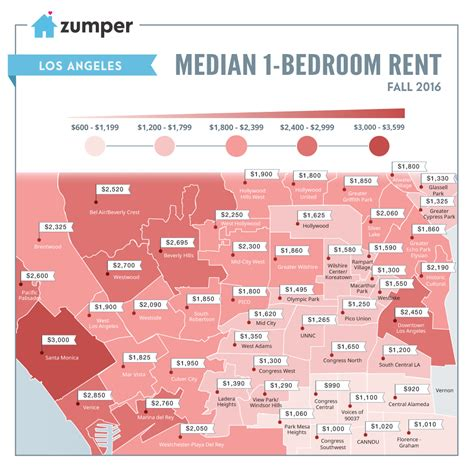 how much is rent for a one bedroom apartment infographic how much is it to rent a one bedroom in los