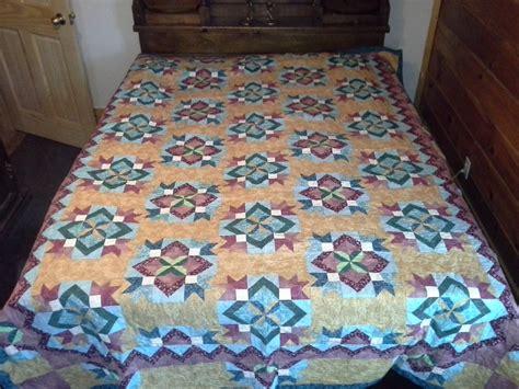 blooming desert quilt