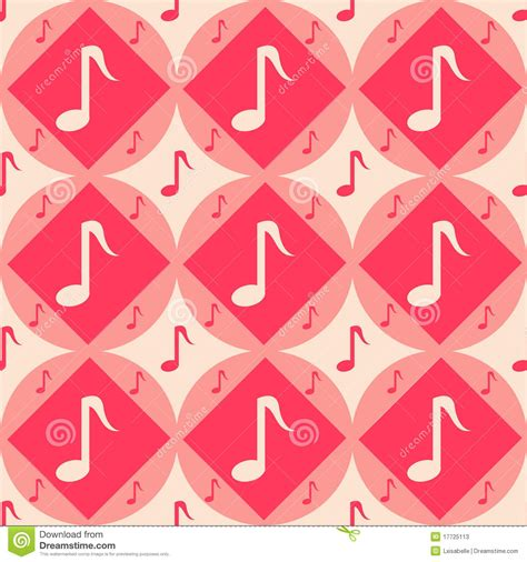 cute music pattern cute musical pattern stock photos image 17725113