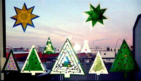 Fensterdeko Weihnachten Schule by Weihnachten Basteln Fensterdeko Aus Transparentpapier