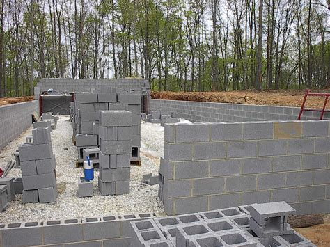 How To Build A Cinder Block Foundation For A Shed by Virginia Modular Homes Concrete Block Foundation