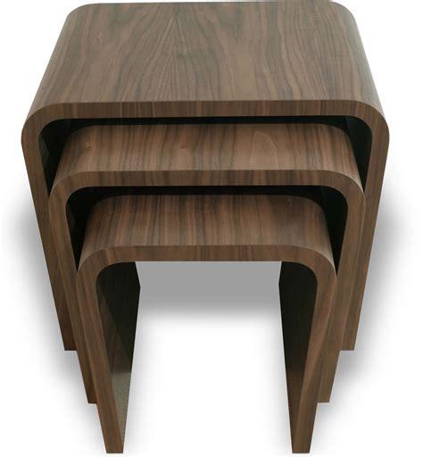 Livingroom End Tables Tom Schneider Wave Nest Of Tables Side Tables