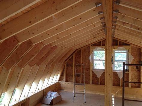 cantilever gambrel cabin home small cabin forum