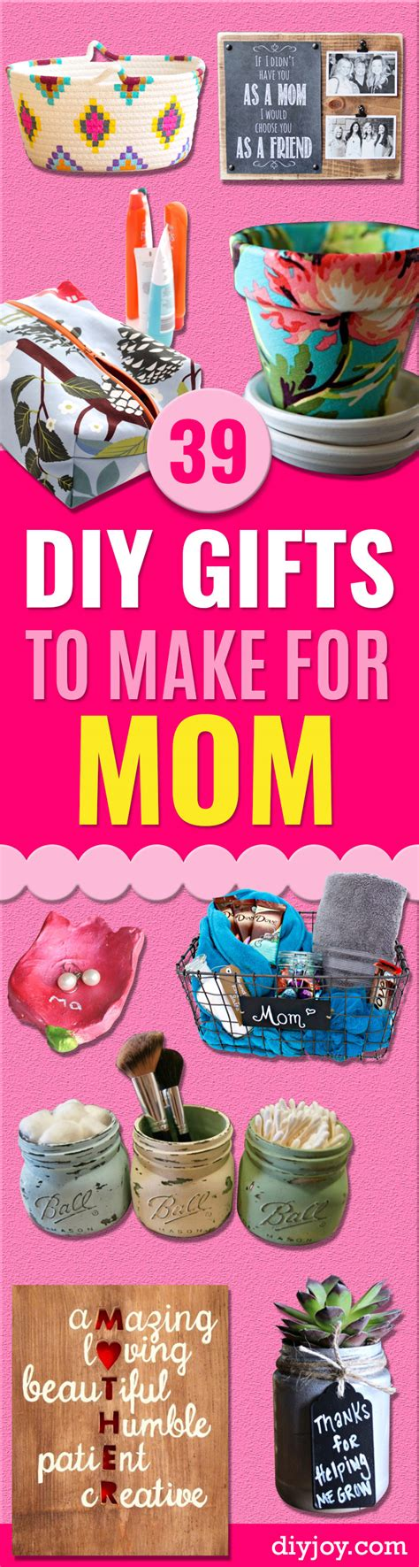 39 creative diy gifts to make for mom page 2 of 8 diy joy