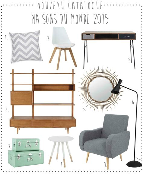 Maisons Du Monde Catalogue 2015 by Nouveau Le Catalogue Maisons Du Monde Deco Trendy A